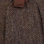 Deerstalker Brown Herringbone