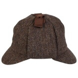 Deerstalker Brown Herringbone