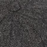 Vintage Grey Herringbone