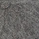 Vintage Light Grey Herringbone