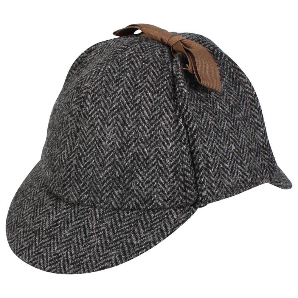 Harris Tweed Deerstalker Sherlock Holmes Hat Rheged