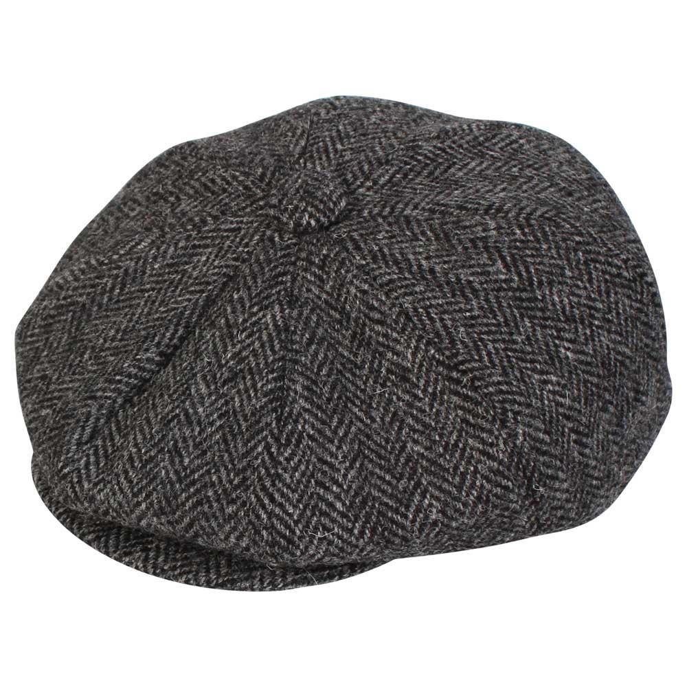 Harris Tweed 8 Piece Button Gatsby Bakerboy Newsboy Cap – Rheged Vintage  341cf372788